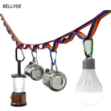 BELLYDE 1PC Outdoor Sports Kit Colorful Tent Rope Hang Lanyard Cord Camping Hiking sporting Universal Outdoor HY2835