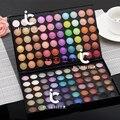 120 Cores de Maquiagem Smoky Shimmer & Matte Paleta de Sombra Eyeshadow Neutral Kit
