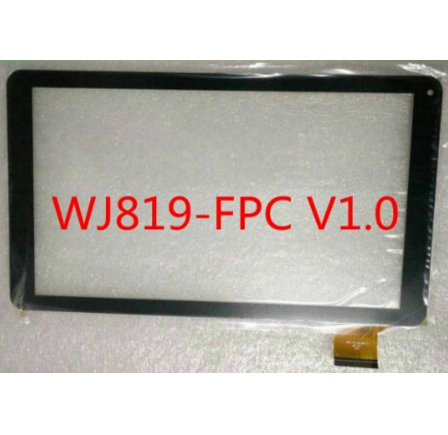 New For 10.1 WJ819-FPC V1.0  Tablet Capacitive touch screen panel Digitizer Glass Sensor Replacement Free Shipping new original black 10 1inch capacitive touch screen panel digitizer glass sensor for 10a01 fpc 1 a0 tablet pc replacement