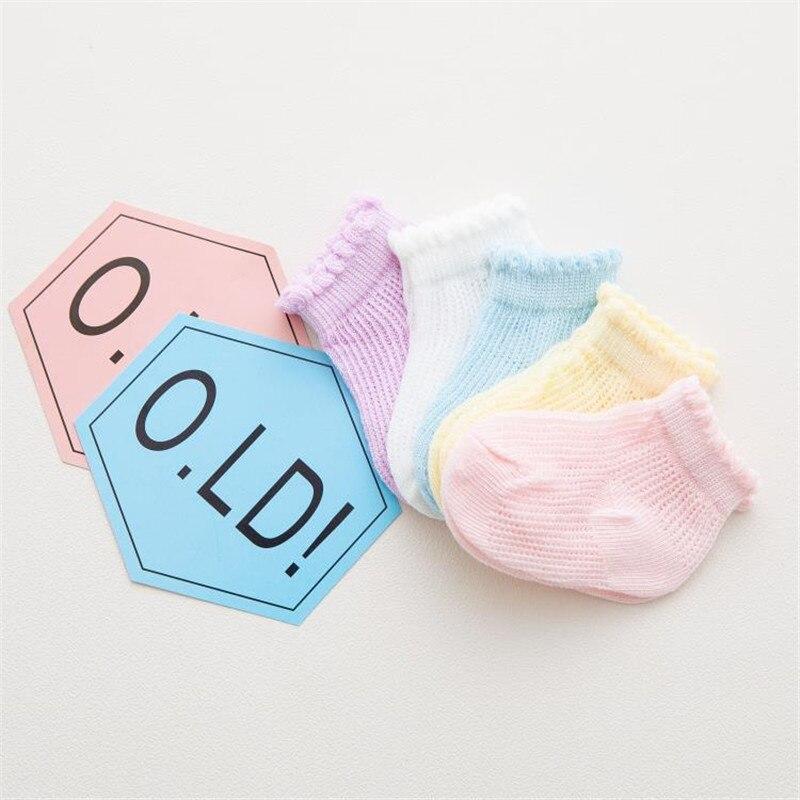 Baby Socks Toddler Newborn Infant Girl Cute Anti Slip Lace Flower Bow Slip Breathable Floor Socks Party Birthday Sock