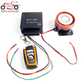 Motorcycle/Scooter/Autobike Anti-theft Security Alarm System 12V Remote Control Engine Start P15