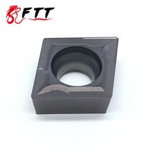 CCMT09T304 VP15TF Carbide insert  High quality CNC Lathe cutter tool Internal Turning Tools sclcr1212h09 holder lathe tools cutter with 10pcs ccmt09t304 blades insert cnc 100mm high quality