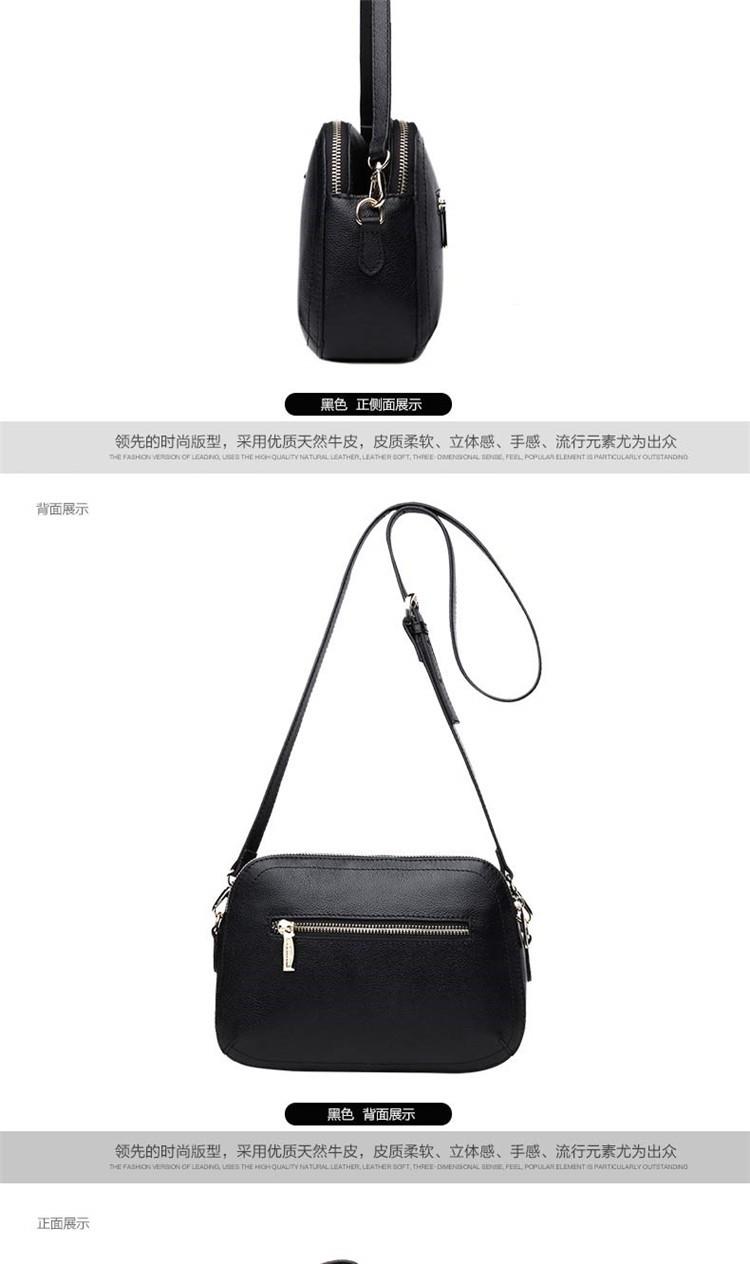 New 2015 Fashion Women Genuine Leather Messenger Bag Shoulder Bags Crossbody  Bolsos Carteras Mujer Marca Handbags Famous Brands16