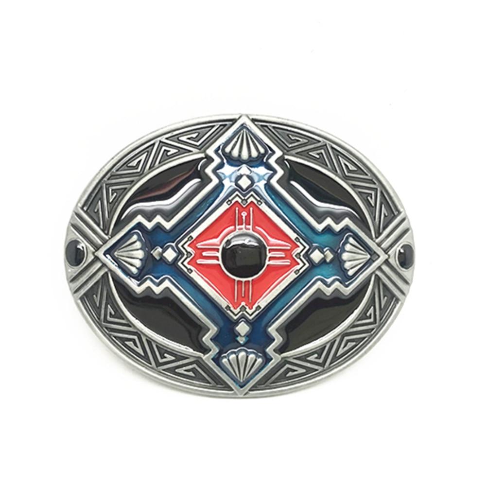 INCH DRESS Skull Cross Zinc Alloy Belt Buckle Dripping Oil Fashion Accessories Button For A 4.0 Belt.