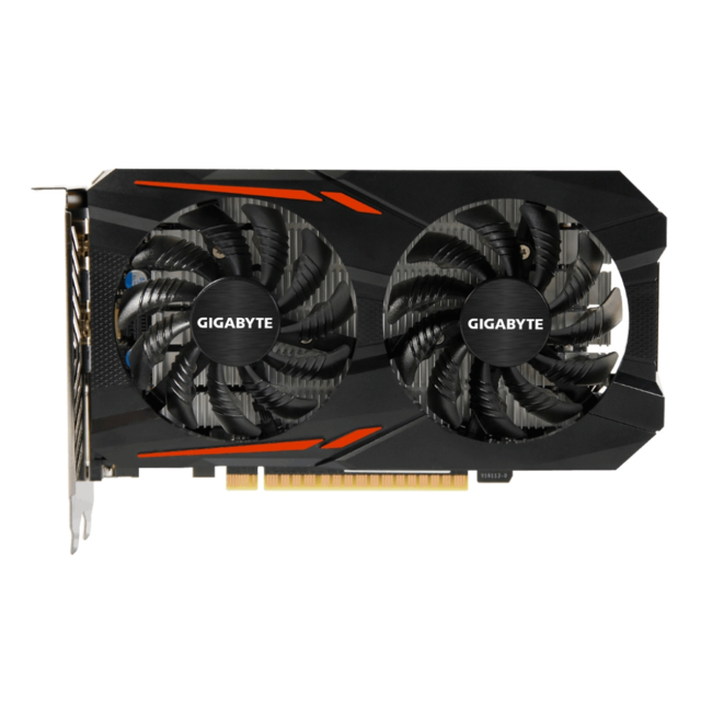 Gigabyte GV-N105TOC-4GD, GeForce GTX 1050 Ti, 4 go, GDDR5, 128 bits, 7680x4320 Pixeles, PCI Express x16 3.