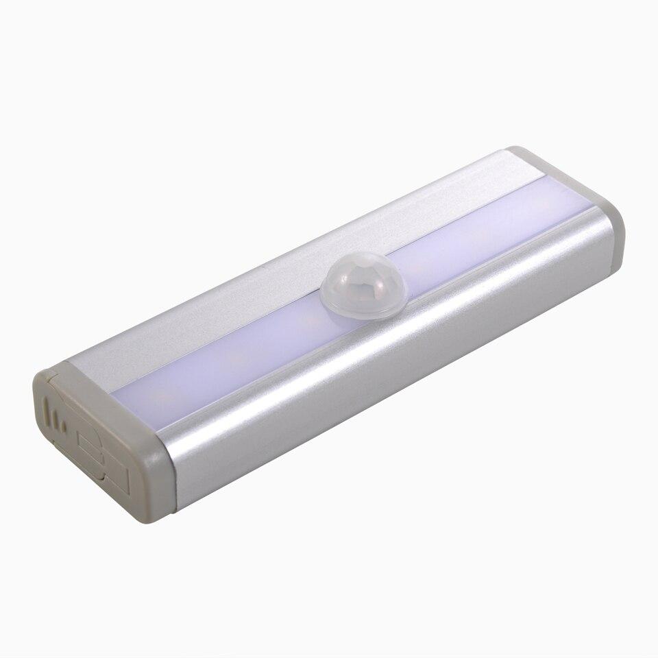 Portable Emergency Light Wireless PIR Motion Sensor Wall Night Light LED Bar Lights Kitchen Closet Cabinet Wardrobe Stair Lamp