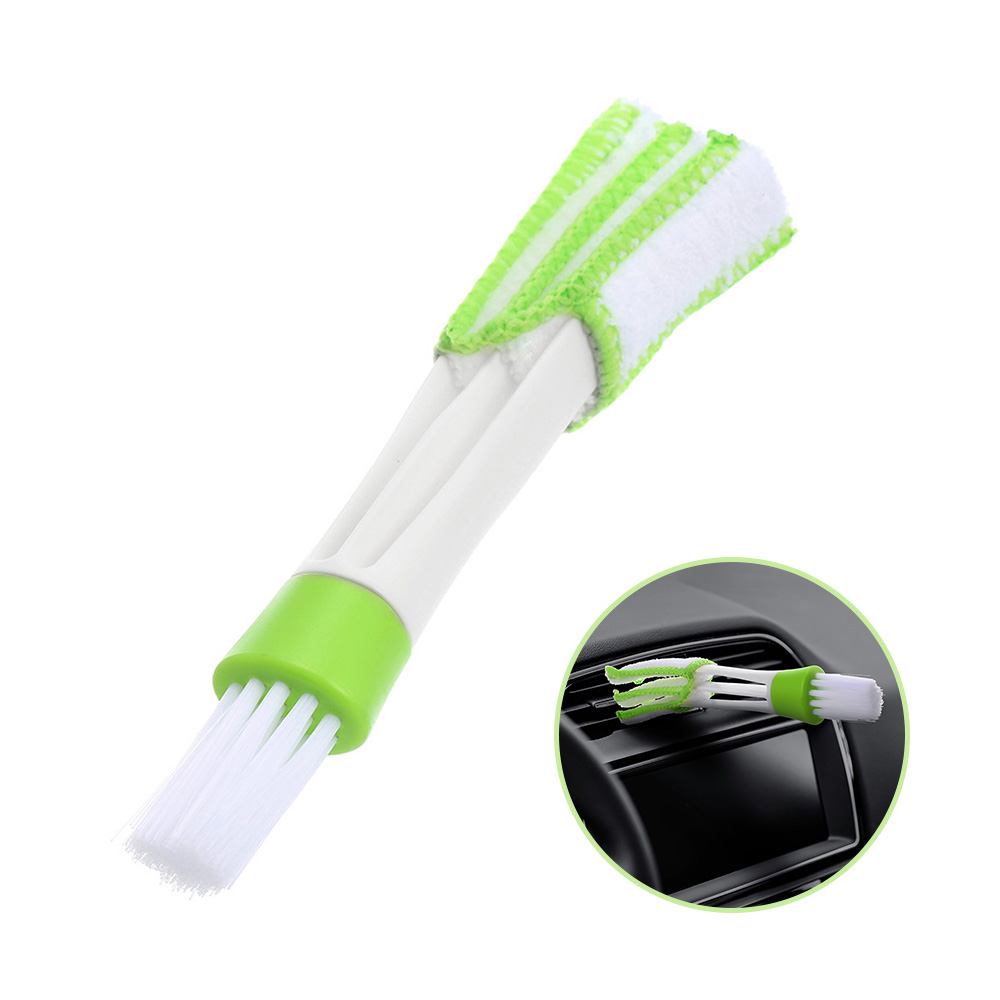 1 PCS Car DIY New Plastic Car Air Conditioning Vent Blinds Cleaning Brush For Series Part Accessories Cleaning Brush Car Styling
