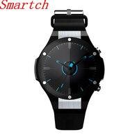 Smartch h2 gps relógio inteligente ios com app baixar freqüência cardíaca rastreador wifi sim 5.0 m hd câmera android 5.1 smartwatch pk kw88|Relógios inteligentes| |  -