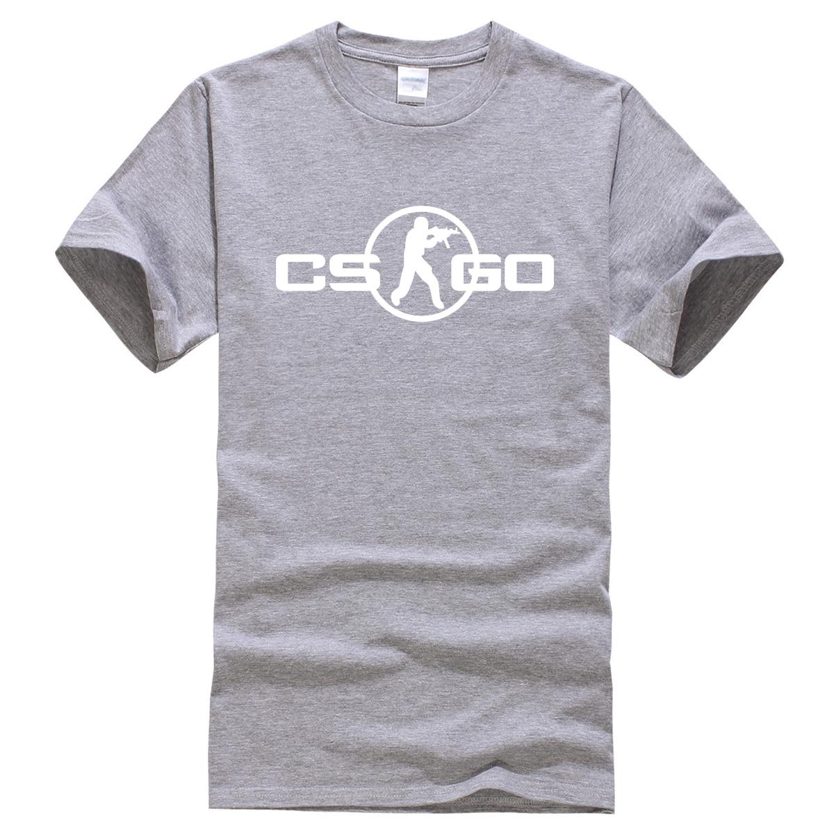 2019 Spring Summer Hot Sale New Arrival T Shirt Men Game CS GO Cosplay Fashion Cotton T-shirt Harajuku Top Tees Fitness T-shirts
