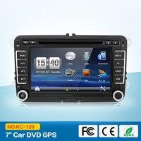 Автомобиль мультимедийные 2Din автомобиля VW DVD gps навигации для Passat GOLF JETTA PASSAT Tiguan SKODA gps карта Bluetooth радио