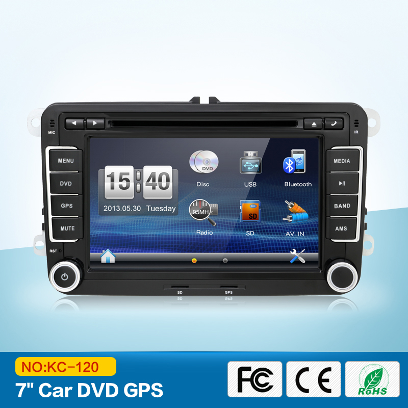 Car Multimedial 2Din VW Car DVD GPS Navigation for Passat GOLF JETTA PASSAT Tiguan SKODA GPS