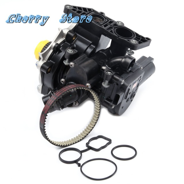 NEW 06K 121 605 Timing Belt  Electronic Water Pump Kit For Audi A4