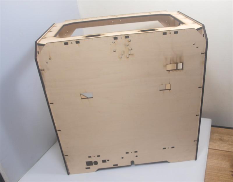 DIY-Reprap-extended-volume-Unofficial-Replicator-XL-V1-5-3D-printer-laser-cut-wooden-frame-kit (1)