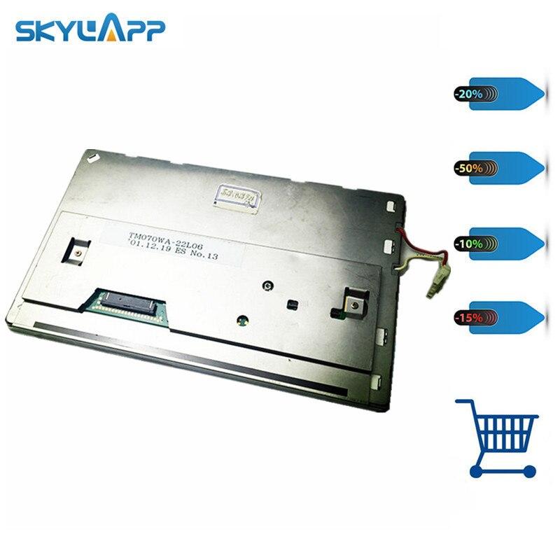 Skylarpu LCD display panel For TM070WA-22L06 GPS panel (without touch) Free shipping Skylarpu LCD display panel For TM070WA-22L06 GPS panel (without touch) Free shipping