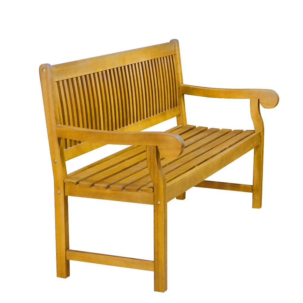 5 Foot Acacia Garden Patio Bench With Arms Outdoor Wooden Garden Furniture  Dropshipping In Patio Benches From Furniture On Aliexpress.com | Alibaba  Group