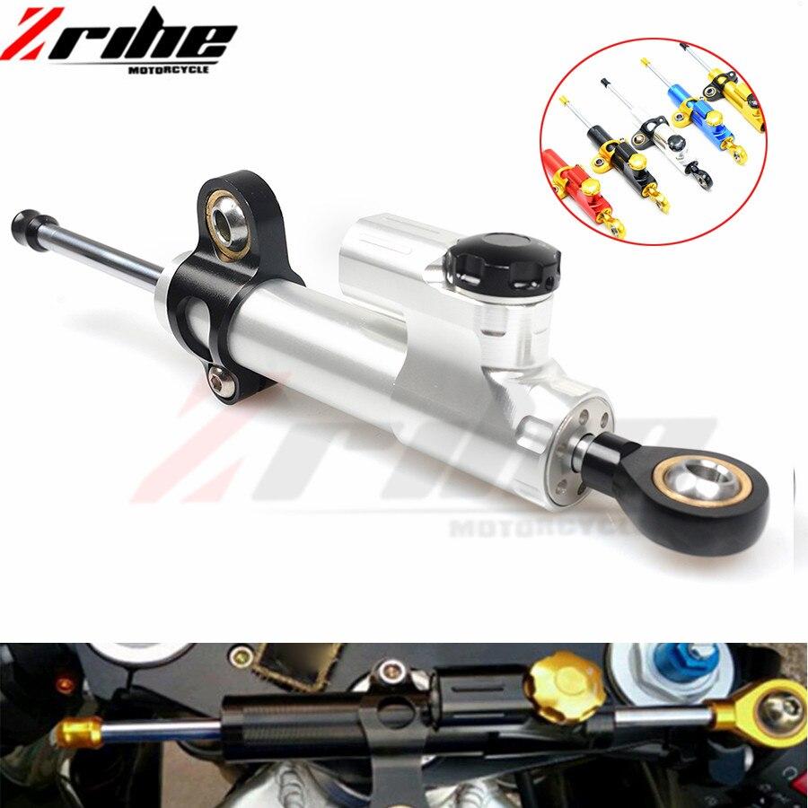 For Kawasaki Z750 Z800 z900 z1000 z650 mt 09 mt10 mt03 mt07 Universal Motorcycle Accessories Stabilizer Damper Steering Mounting