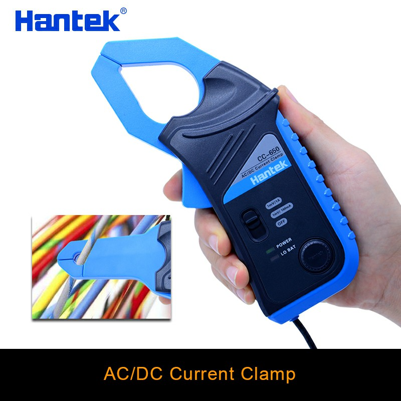 Hantek oscilloscope ca/cc pince de courant CC-65 CC-650 20 KHz/400Hz bande passante 1mV/10mA 65A/650A avec prise BNC