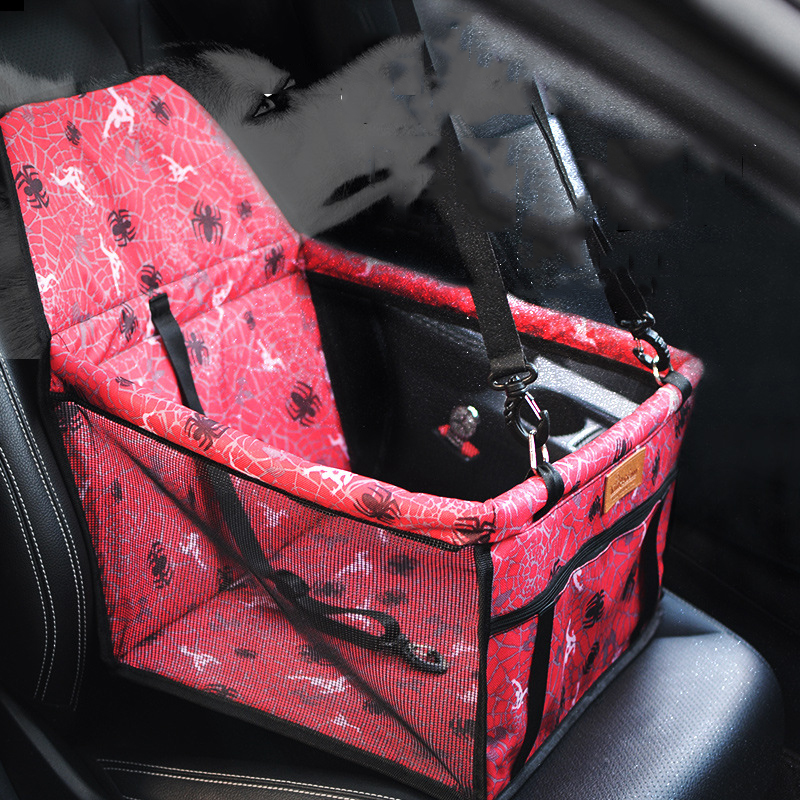 Тонкой радость собак Pet Carrier автовоз автокресло Pad безопасно выполнять водонепроницаемый кошка щенок сумка корзина собака сумка товары для ...