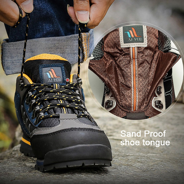 GOMNEAR Outdoor Shoes Leather 4
