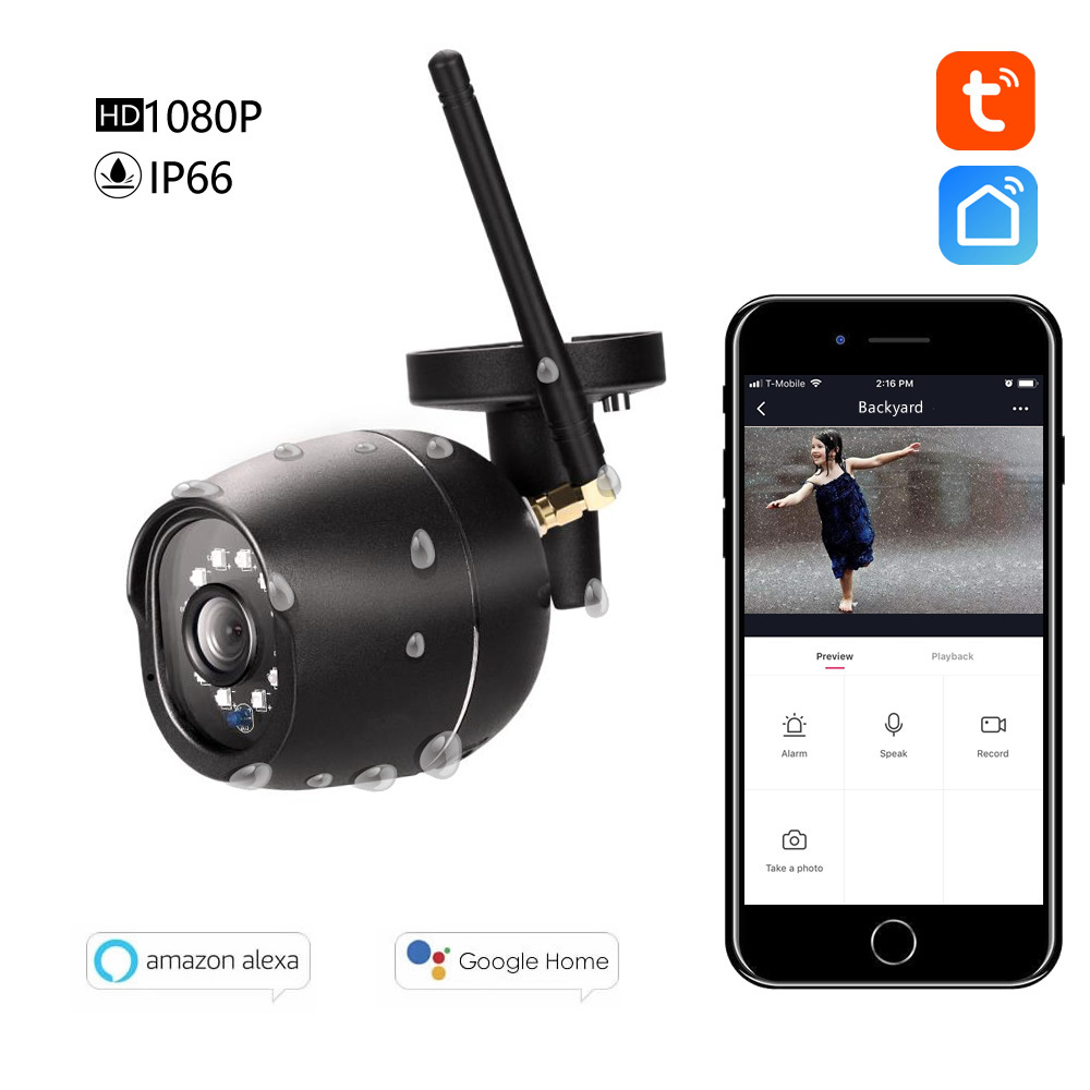 Wireless monitoring camera 1080P HD WIFI intelligent remote housekeeping artifact waterproof WIFI cameraWireless monitoring camera 1080P HD WIFI intelligent remote housekeeping artifact waterproof WIFI camera