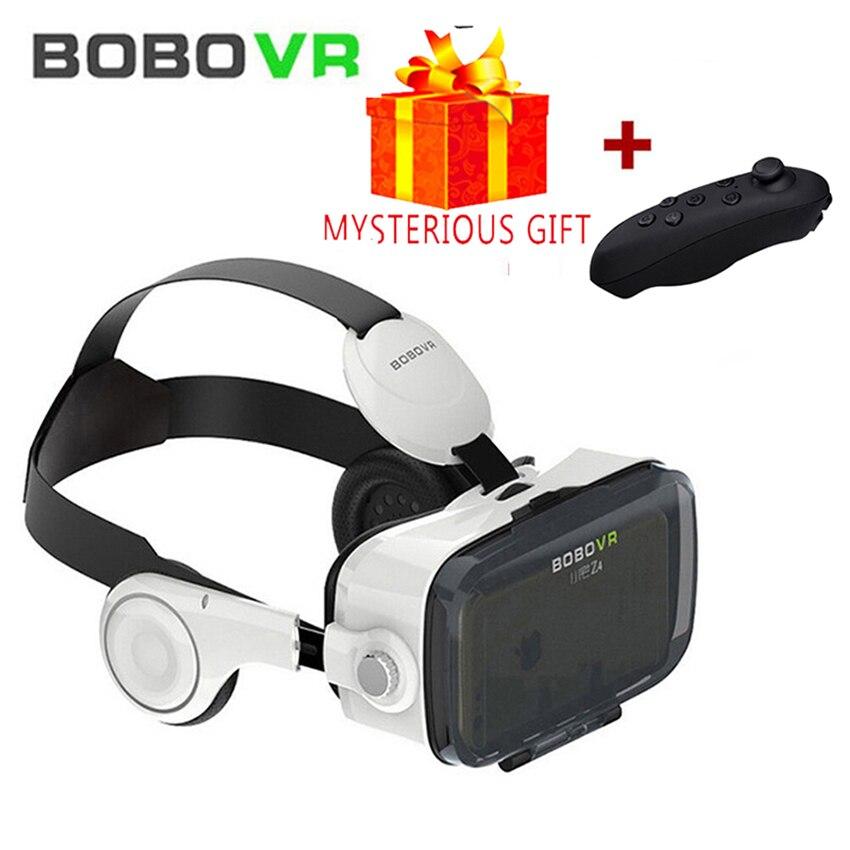 Bobo VR Bobovr Z4 3D 3 D Casque Box Virtual Reality Glasses Goggles Headset Helmet For Smartphone Smart Google Cardboard Vrbox