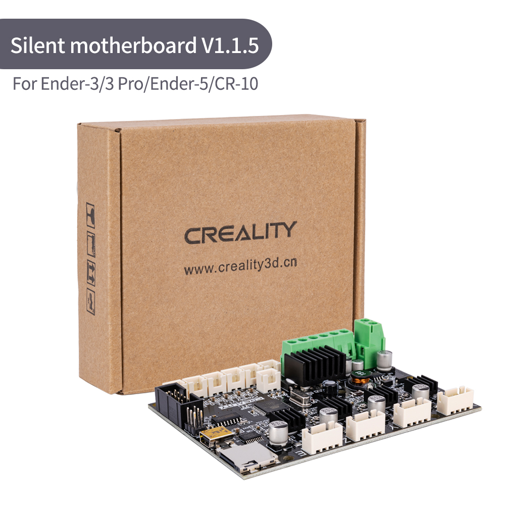Original Factory Supply Creality 3D Newest Upgrade Motherboard TMC2208 Silent 1.1.5 Mainboard For Ender-3/Ender-3Pro/ Ender-5