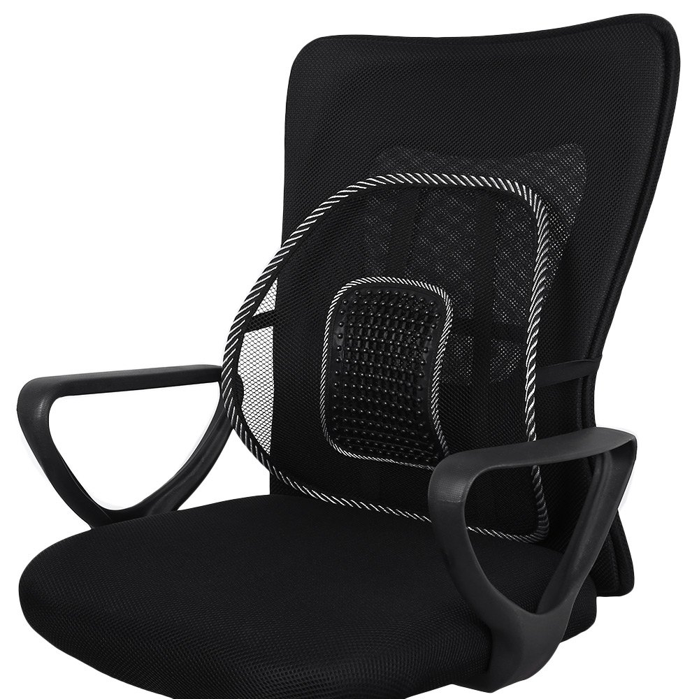 Back Supports For Chairs Us 6 79 Hot Selling Car Back Seat Support Mesh Lumbar Back Brace Support Cool Summer Car Seat Office Home High Quality Back Seat Cushion In Seat