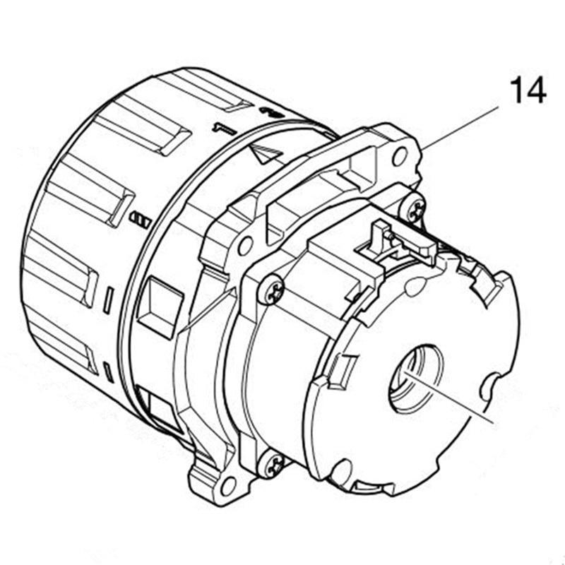 Discount Genuine Gear Box For Makita 123737 3 Ddf484
