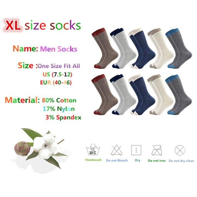 men sock Harajuku Standard Classic  Socks New Socks Business Casual Cotton gifts for socks men 5