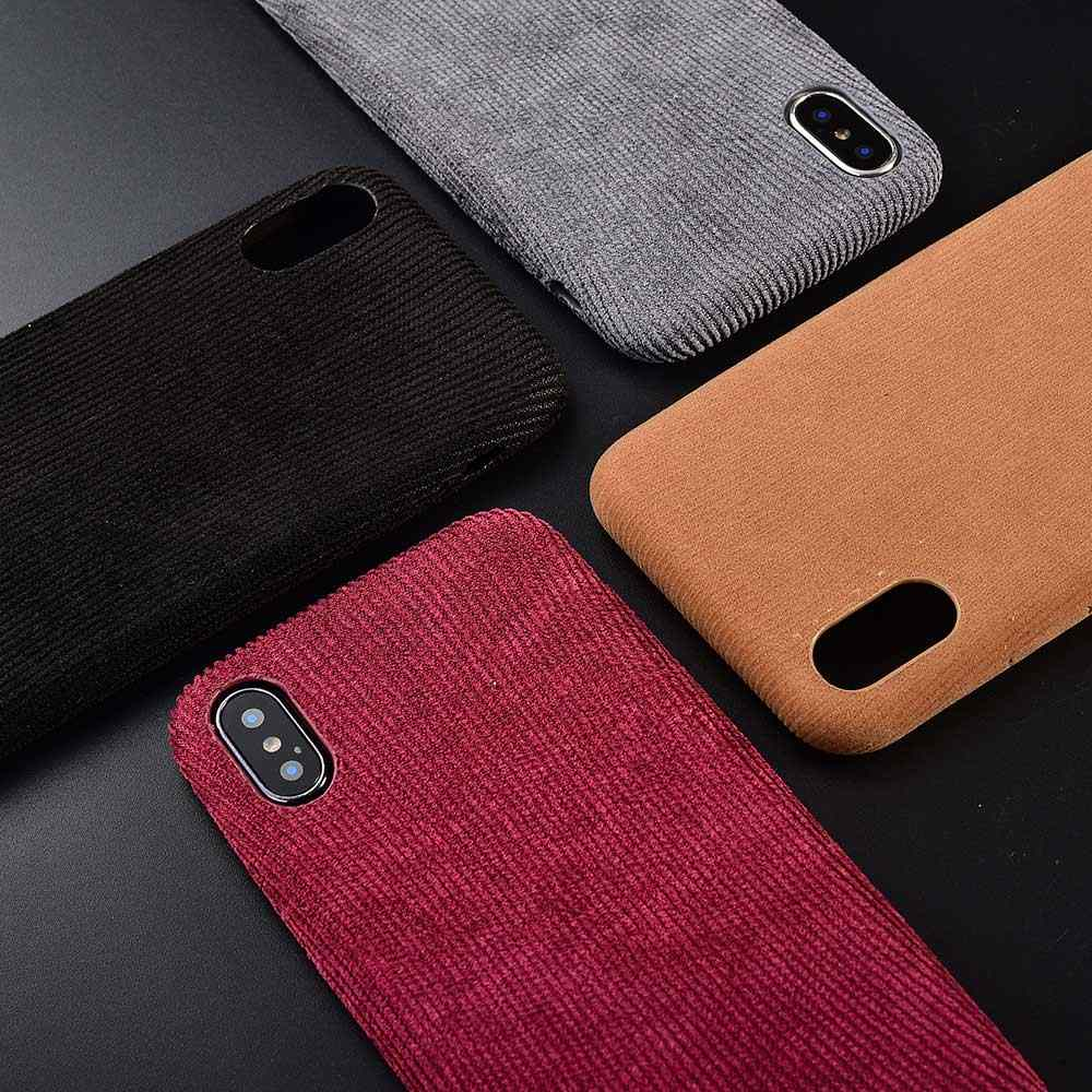 Boucho آيفون XS ماكس XR 11 برو ماكس X حالة ثعبان الخشب الملمس الهاتف خزائن هاتف آيفون 7 8 6 6s زائد بولي Leather جلدية لينة الغلاف