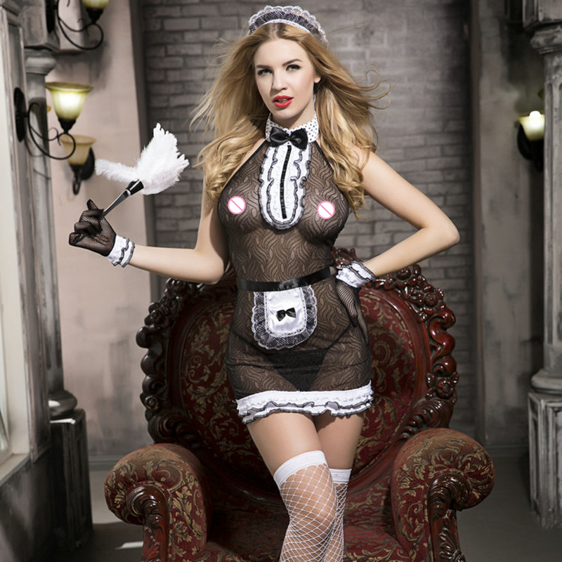 Aliexpresscom  Buy Sexy French Maid Cosplay Costumes -3058