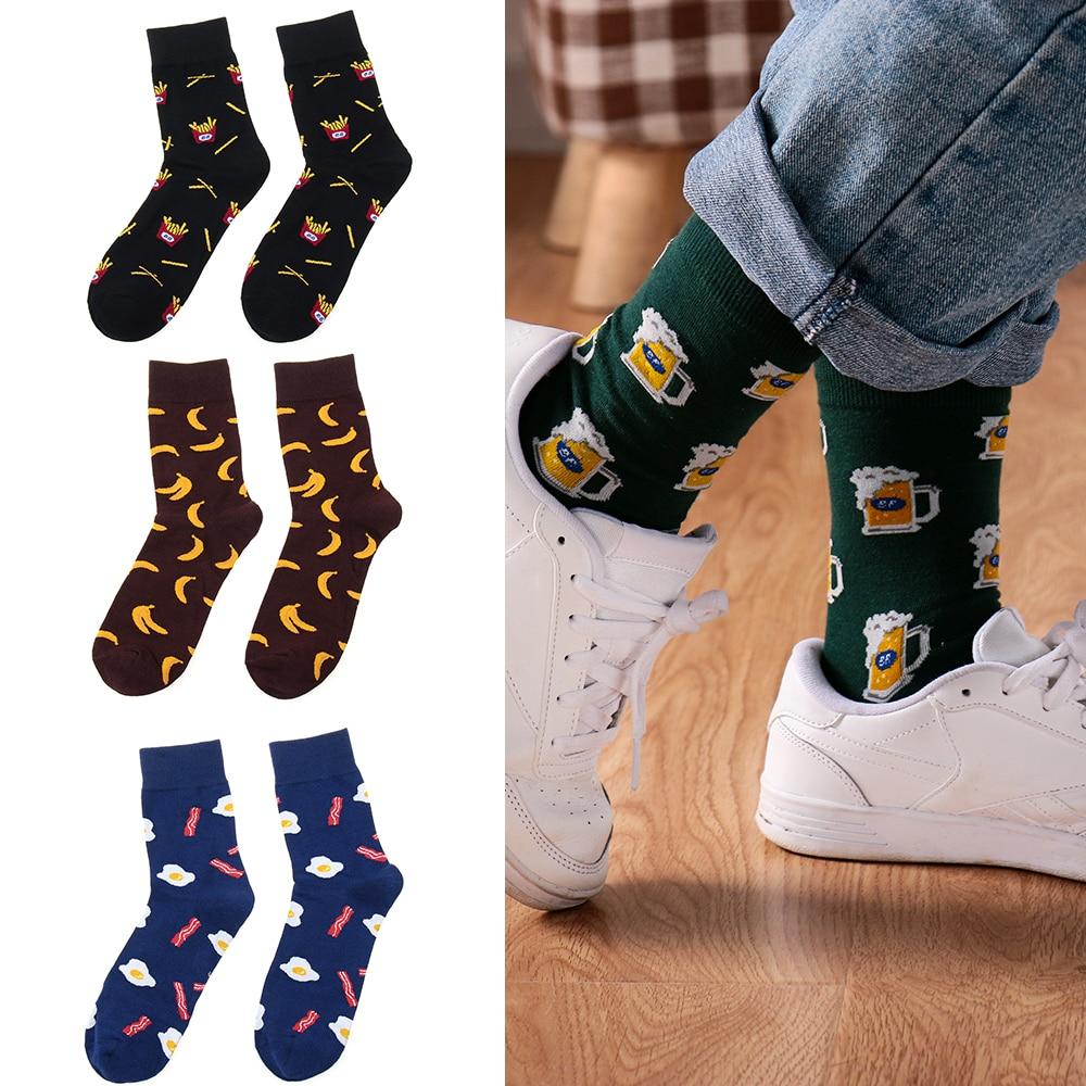 Heißer Marke Männer Socken Mit Lustige 10 Farben 3d Pet Hunde Möpse Hunde Hochzeit Geschenk Streetwear Baumwolle Glücklich Socken Chaussette Homme Herrensocken