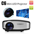 C6 Mini Portable LCD Pocket Projector 1200LM Home Theater HDMI/USB/VGA/AV/TV Proyector For Video Games LED Pico Proyector Beamer