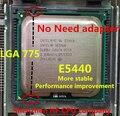 Intel xeon e5440 processador (2.83 ghz/12 m/1333) perto lga775 core 2 quad q9650 cpuworks (lga 775 mainboard não precisa de adaptador)