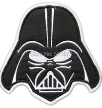 """7 """"Darth Vader Applique Film Film TV Serie Kostüm GROßE Filz Gestickte nähen auf eisen auf patch TRANSFER MOTIV"""