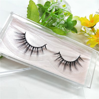 10 Pairs Faux Mink Eyelash extension Thick Long Party False Eyelashes Black Band Fake Eye Lashes Fake eyelashes free shipping