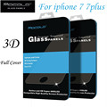 MOCOLO Full cover glass for iPhone 7 glass film 9H 4.7 ultra thin 3D protection for iPhone 7 plus glass for iphone7 full film