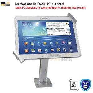 Image 2 - Montaggio a Parete Universale Tablet Pc Anti Furto Supporto Dellesposizione di Sicurezza Tablet Del Basamento per 7 10 Pollici Ipad Samsung asus Acer Huawe