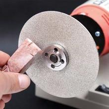 """BENGU 4 """"100mm 80 2000 # Diamant Beschichtet Flache Runde Rad Lapidar Polieren Schleifen Disc"""