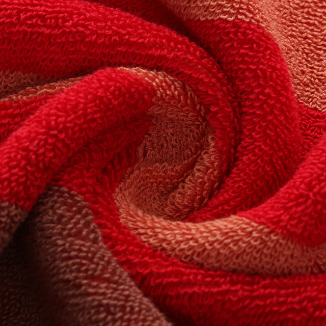 Bath Striped Cotton Towel