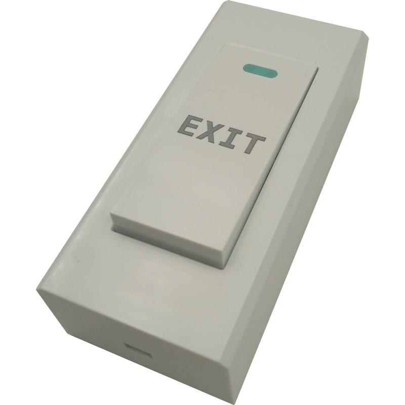 5pcs ABS Gate Opener Door Lock Exit Button Release Push Switch For Electronic Door Lock NO COM