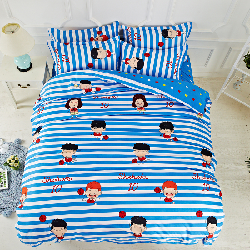 2017 New Style Duvet Cover Set Polyester Fiber Bed Sheet
