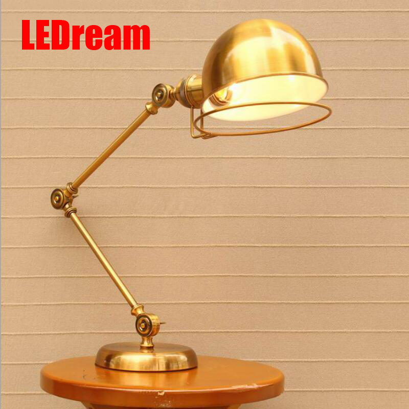 Restoring ancient ways is contracted, wrought iron RH barcafe bar modern long arm desk lamp of the head of a bed american creative fashion led the study bedroom mirror before the long arm of the head of a bed wall lamp wrought iron long arm
