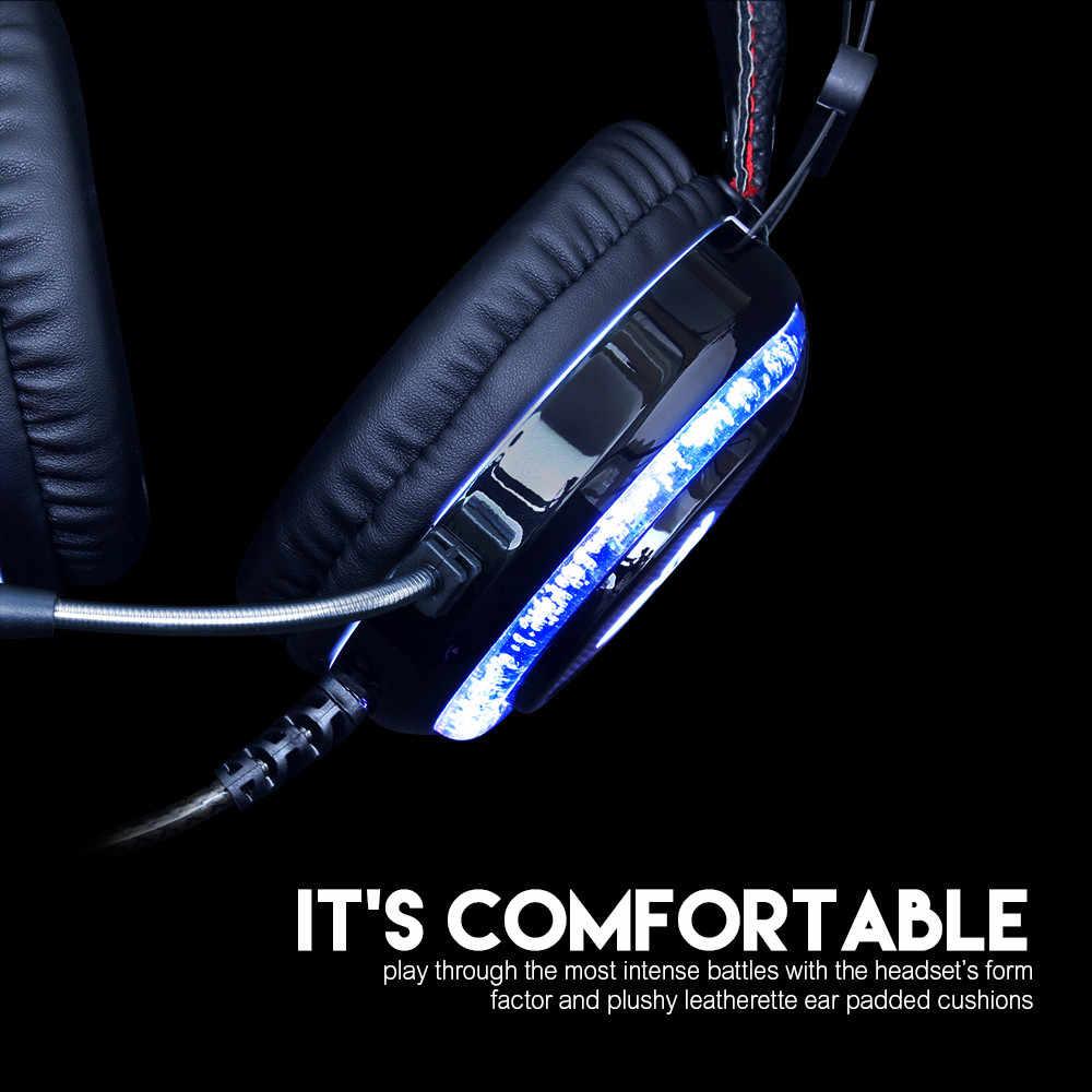 2019 جديد سماعات الألعاب والموسيقى محمول جهاز كمبيوتر شخصي سماعة سلكية سماعة ستيريو مع ميكروفون سماعة بارد lightz6