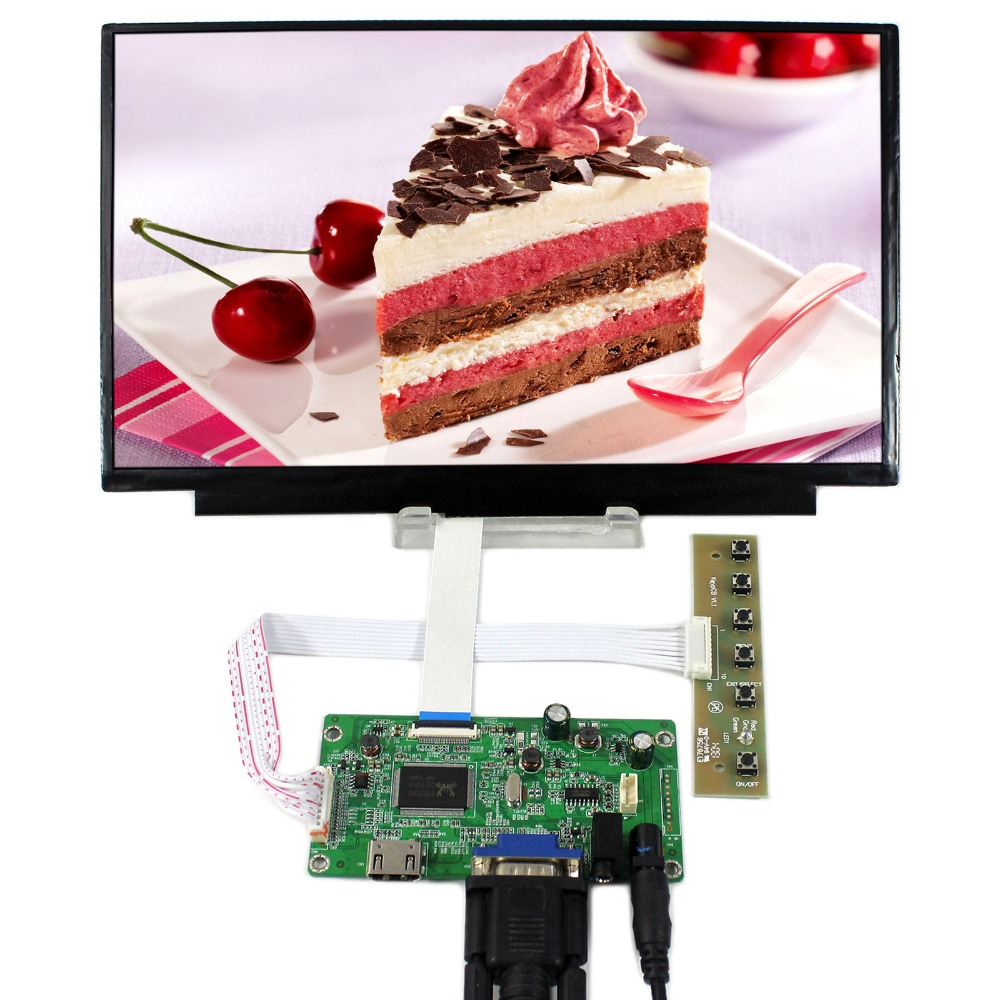 HDMI+VGA+Audio LCD Controller Board With 11.6inch 1920x1080 N116HSE IPS LCD Screen hdmi vga audio lcd controller board with 11 6inch 1920x1080 n116hse ips lcd screen