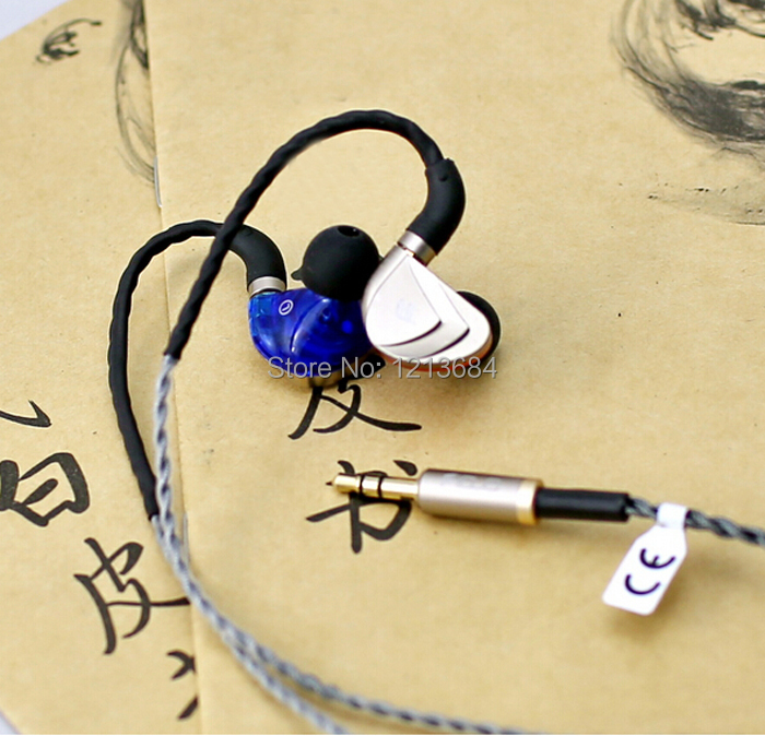 Authentic Fidue A83 Triple-Driver Hybrid 2 Balanced Armature Dynamic IEMS Hifi Professional Stereo Music In-Ear Earphone Earbuds fidue a83 reference level 3 unit mixed ring iron earphone champagne gold