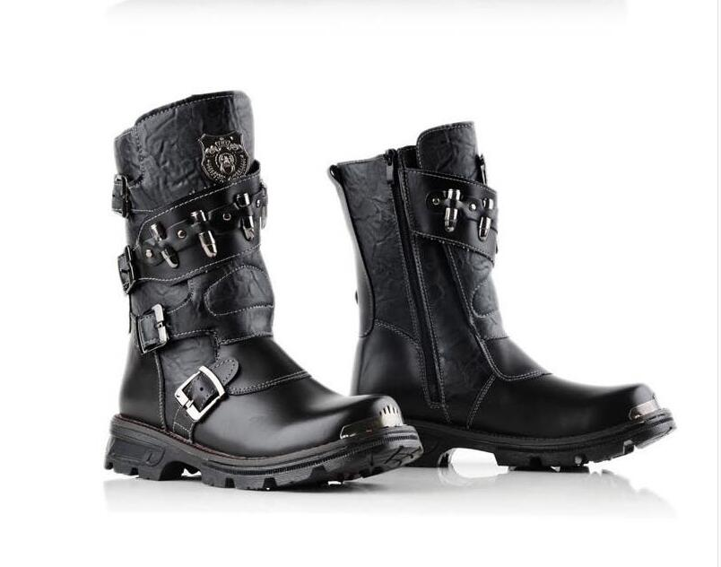 Popular Men Buckle Boots-Buy Cheap Men Buckle Boots lots from ...