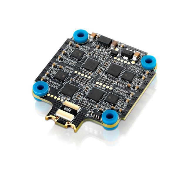 Hobbywing XRotor Micro Combo ensemble F4 G2 contrôleur de vol & 45A 4in1 BLHeli32 6 S ESC Support DShot1200 pour FPV Racer quadrirotor