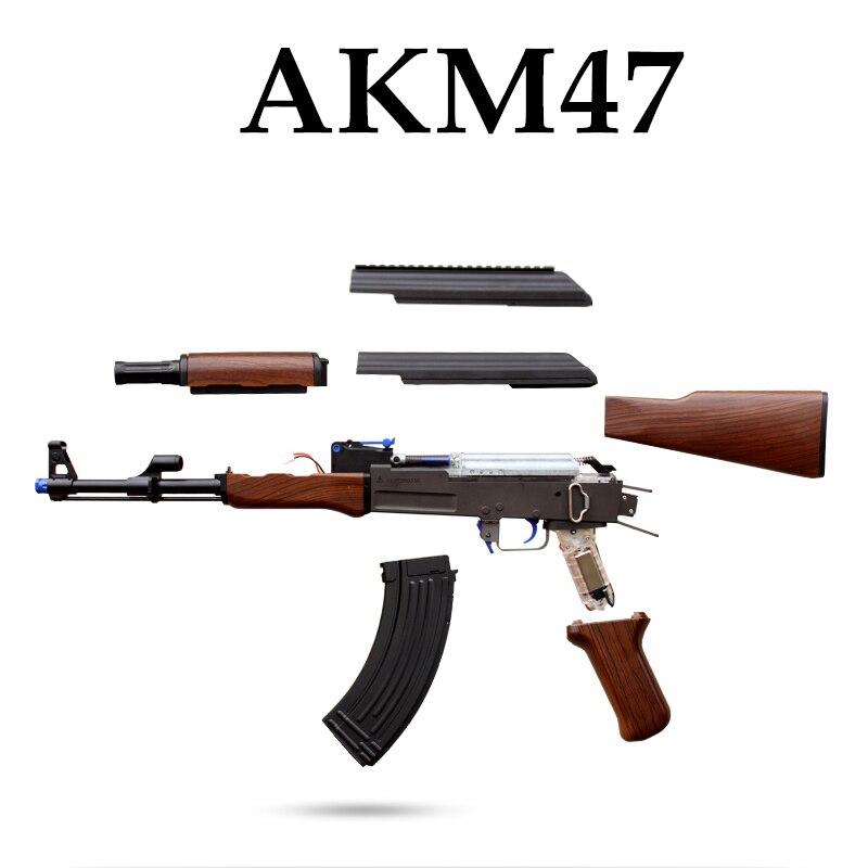 RX AKM-47 gel aqueux blaster Pour Enfants En Plein Air balle Pistolet Électrique Burst Jouets