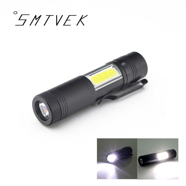 Новинка 2017 года мини Портативный Алюминий Q5 светодиодный фонарик XPE и глинобитных свет Lanterna Мощный Pen Факел лампы 4 режима Применение 14500 или AA